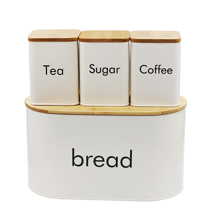 Storage and Organization Food bread tea sugar Coffee Canister Sets