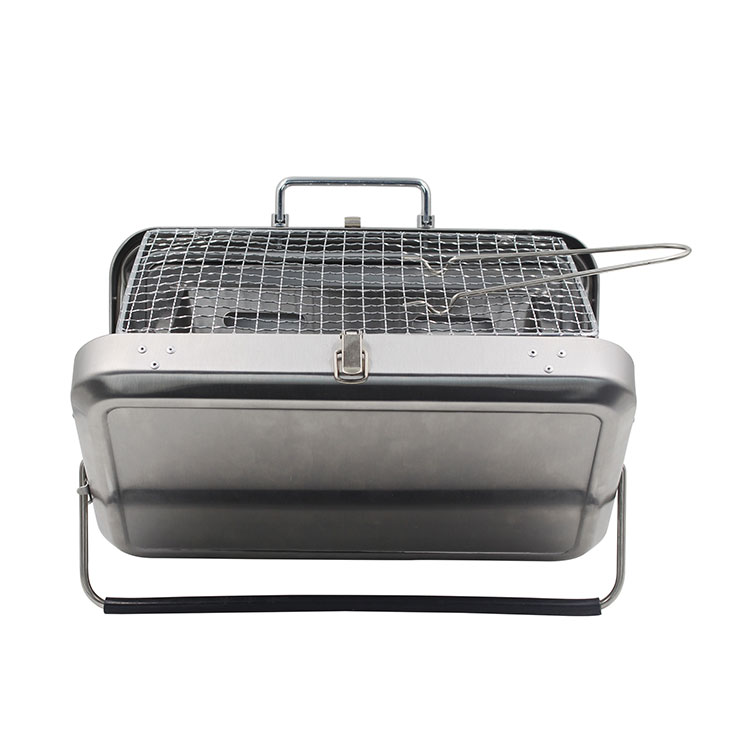 Stainless Steel Folding Portable Barbecue Charcoal BBQ Grill