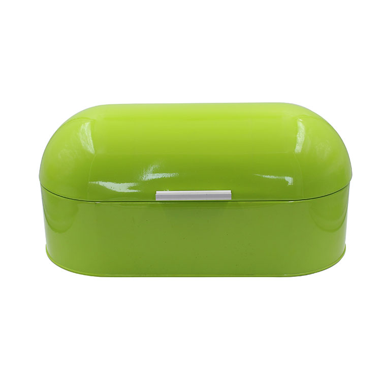 Metal Green Storage Tin Canister Bread Box/Bin/kitchen Storage Containers