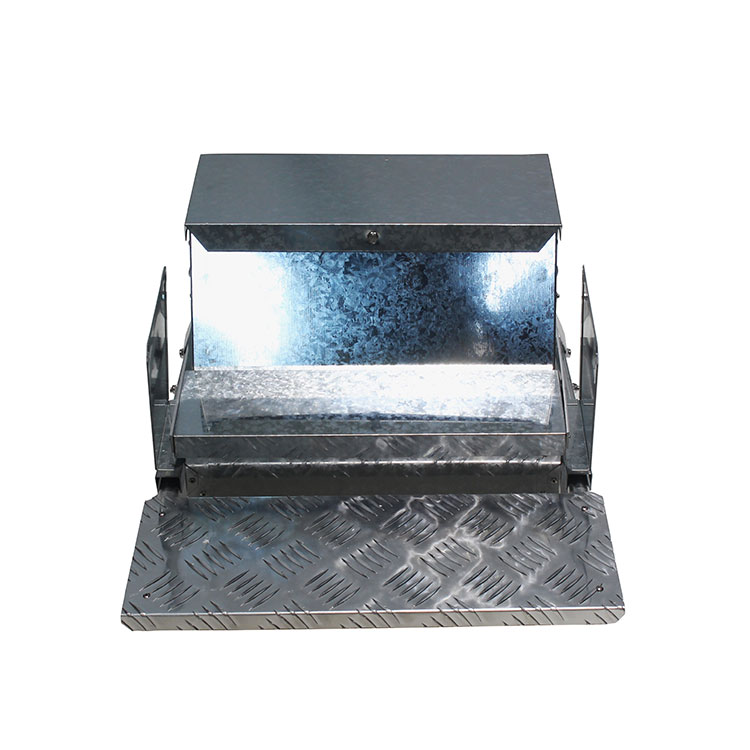 Galvanized Steel Poultry Feeder Trough Automatic Chicken Feeder
