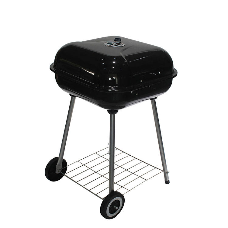 Camping Barbecue Table Backyard Cooker Steel construction Outdoor 21.5Inches Port