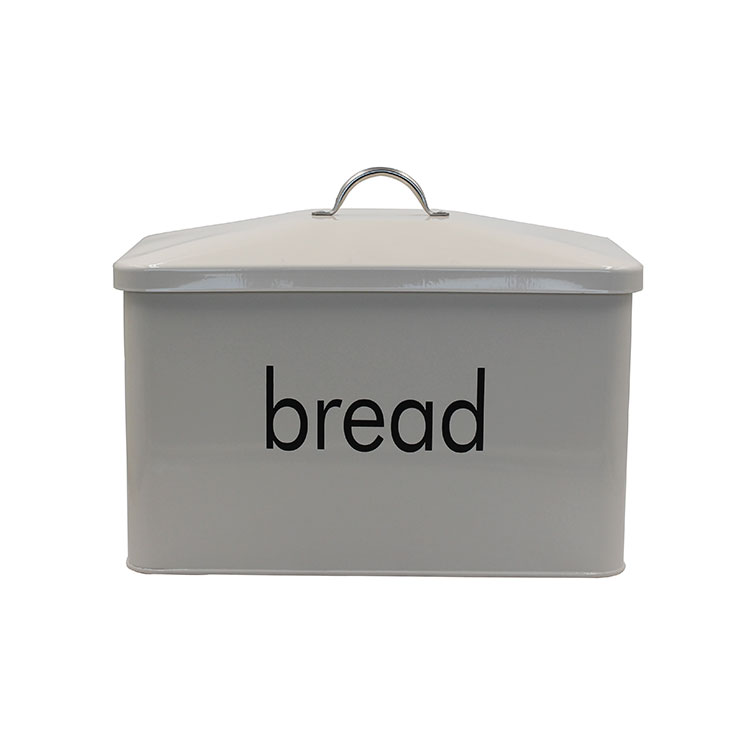 OEM ODM customized white rectangular large capacity kitchen galvanized iron bread