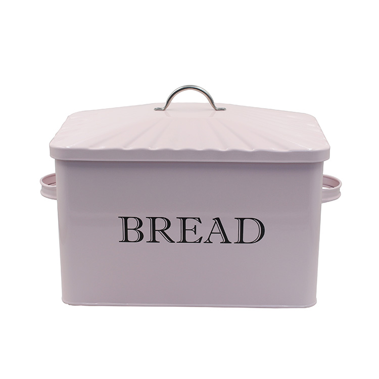 OEM customized metal kitchen household large capacity storage bread container
