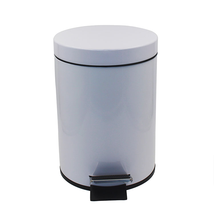 Custom Gallon Metal Iron Pedal Garbage Bin for Kitchen Office Home
